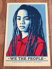 Ernesto yerena Shepard Fairey We the people proteggersi l'un l'altro Adesivo Vinile