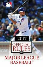 OFFICIAL RULES OF MAJOR LEAGUE BASEBALL 2017 - TRIUMPH BOOKS (COR) - NEW PAPERBA