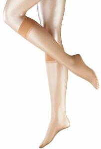 Falke Sheila 12 Denier Ultra-Transparent Sensitive Top Knee High Tights - Tan