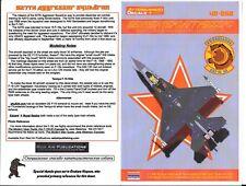 Afterburner F-16C, 527th Aggressor Squadron Decals 1/48 060 DO
