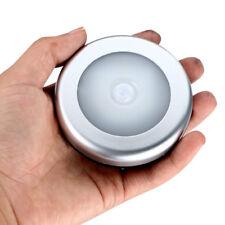 Night Light PIR Motion Sensor 6 Led Wireless Detector Lights Wall Auto Lamp