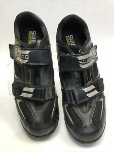 Shimano Cycling SPD Shoes Size 12 47,  Bike Trainers Clip #80