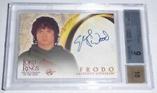 2001 Lord of the Rings The Fellowship of the Ring Autograph Elijah Wood Frodo