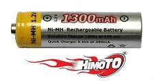 BATTERIA STILO RICARICABILE NI-MH 1,2V AA 1300MAH RECHARGEABLE BATTERY HIMOTO