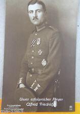 Original sanke aviateur photo AK 395 Alfred Friedrich