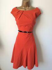 COAST red dress size 14 vgc