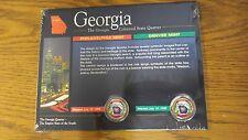 1999 P/D Georgia Colorized State Quarters The American Historic Society/w COA
