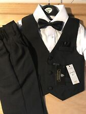 Boys Toddler Tuxedo 4 Piece Set 2T