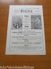 1921 FRERA CICLI E MOTO BICICLETTA VECCHIA EPOCA PUBBLICITA ITALIANA MOTORCYCLE