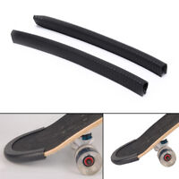 2PCS Skateboard Bumper Strip Skate Board Protection Strip Anti-collision HU