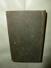 Vintage Small Common Book of Prayer Hard Cover (dated 1892)