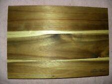 The Pioneer Woman Acacia Wood Kitchen Cutting Board 13 x 9 New