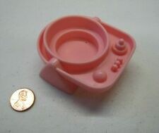 Fisher Price Little People LIGHT PINK BABY SEAT EXERSAUCER Nursery Dollhouse