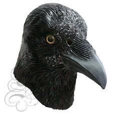 TESTA di lattice Crow Festa Maschera-Halloween Gallina Addio al Celibato oggetti di scena teatro Play Fotografia