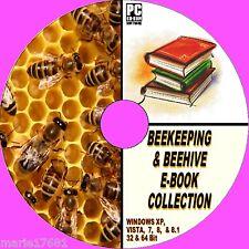 50 + RARA ANTICA E MODERNA Apicoltura Api Arnie apiary libri risorsa su CD NUOVO