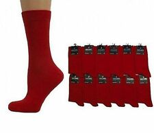 MENS RED ANKLE SOCKS - SIZE: UK 6-11