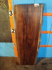 "# 8597,  1 15/16"" thick Black Walnut Live Edge Slab lumber craft wood"