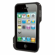 Ozaki IC867BK O! photo Bumper Negro marco aluminio para iPod iPhone 4/4S Nuevo