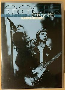 Oasis Familiar to Millions DVD 2000 Live Concert Gig Britpop Rock Music