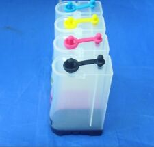 4 PCS CISS CIS Empty INK Bottle for Canon HP E PSon Continuous Ink Supply System