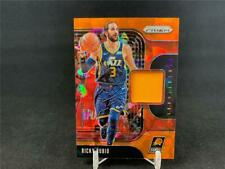 2019-20 PANINI PRIZM RICKY RUBIO SENSATIONAL GAME WORN JERSEY ORANGE ICE SUNS