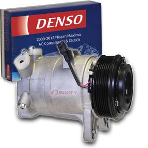 Denso AC Compressor & Clutch for 2009-2014 Nissan Maxima 3.5L V6 Heating Air li