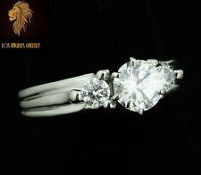 $8500 / NEW / Gabriel & Co Solid Platinum Palladium 950 / 1.41 CT Diamond Ring