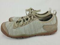 KEEN Womens Hush Knit Cnx Gray  Hiking Shoes Size 8 EUC