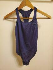 Girls Speedo swimsuit size 14 Navy Blue