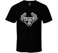 ASPHYX LOGO Vintage shirt black white tshirt men's free shipping