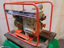 Multiquip Contractor Grade 2 Inlet Amp Outlet Honda Gas Engine Trash Water Pump