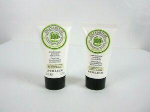 Perlier Olivarium 2 Piece Mini Travel Set 1 oz Body Cream, 1 oz Hand Mask New