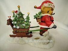 Cherished Teddies Santa Series 2012 Foster  NIB