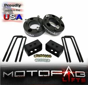 """3"""" Front and 2"""" Rear Leveling lift kit for 2004-2014 Ford F150 4WD USA MADE"""