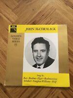 "HQM 1176 - JOHN McCORMACK - Golden Voice Series No 14 - 12"" Vinyl LP Free UK P&P"