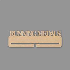 Running Medals Medal Holder - 4mm MDF Wooden Craft Blank