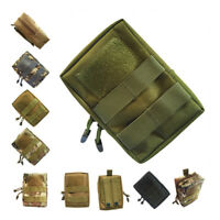 Military Molle Waist Bag Tactical EDC Pouches Outdoor Belt Utility Pouch Tool