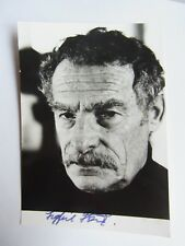 Sigfrit Steiner (1906-1988): signé Photo, autographe de l'acteur