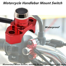 Power ON/OFF Headlight Fog Light Motorcycle Bikes Handlebar Mount Switch Conrol