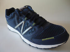 NEW BALANCE MEN RUNNING SHOES FOR SUMMER BREATHABLE MESH BLUE LIME S 9.5 MT310NW