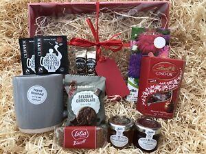 Male Female Birthday Garden Gift Hamper Seeds Mug Tea Coffee Biscuits Lindt Jam