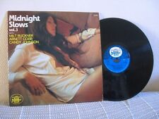 SEXY CHEESECAKE LP MIDNIGHT SLOWS VOL. 3 MILT BUCKNER ARNETT COBB CANDY JOHNSON