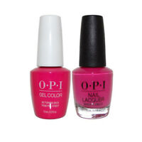 """OPI GelColor Gel Polish + Nail Lacquer """"No Turning Back From Pink Street #GCL19"""""""