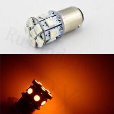 New listing Pair 1157 Bay15D P21/5W 12Smd 5050 Car 24V Led Tail Brake Light Bulb Lamp Yellow