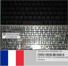 Teclado Azerty Francés MEDION MD2 MSI X Slim V103522AK1 S1N-1EFR291-SA0 Negro