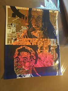 TEST PRINT RARE ONE A KIND 16 X 20 INCHES FROM A MYSTERY TUBE RARE PRINT RAVEN