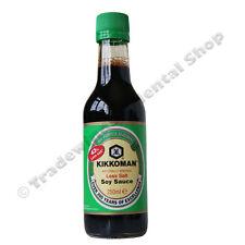Kikkoman menos sal salsa de soja - 250ML