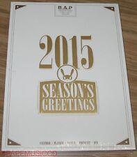 B.A.P BAP 2015 SEASON'S GREETINGS CALENDAR + SCHEDULER + PHOTO SET FOLDED POSTER