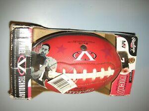 ATLANTA FALCONS Michael Vick mini size rubber football QB Rawlings NFL New