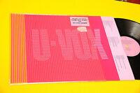 ULTRAVOX LP ORIG UK 1986 NM !!!! PLASTIC BAG TOP TOP RARE !!!!!!!!!!!!!!!!!!!!!!